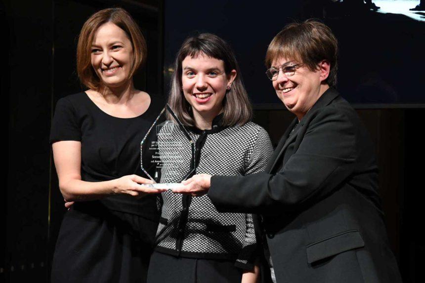 (da sinistra – Beatrice Laurora, Anna Maddalena Cingi, Maria Gabriella Giovannelli)