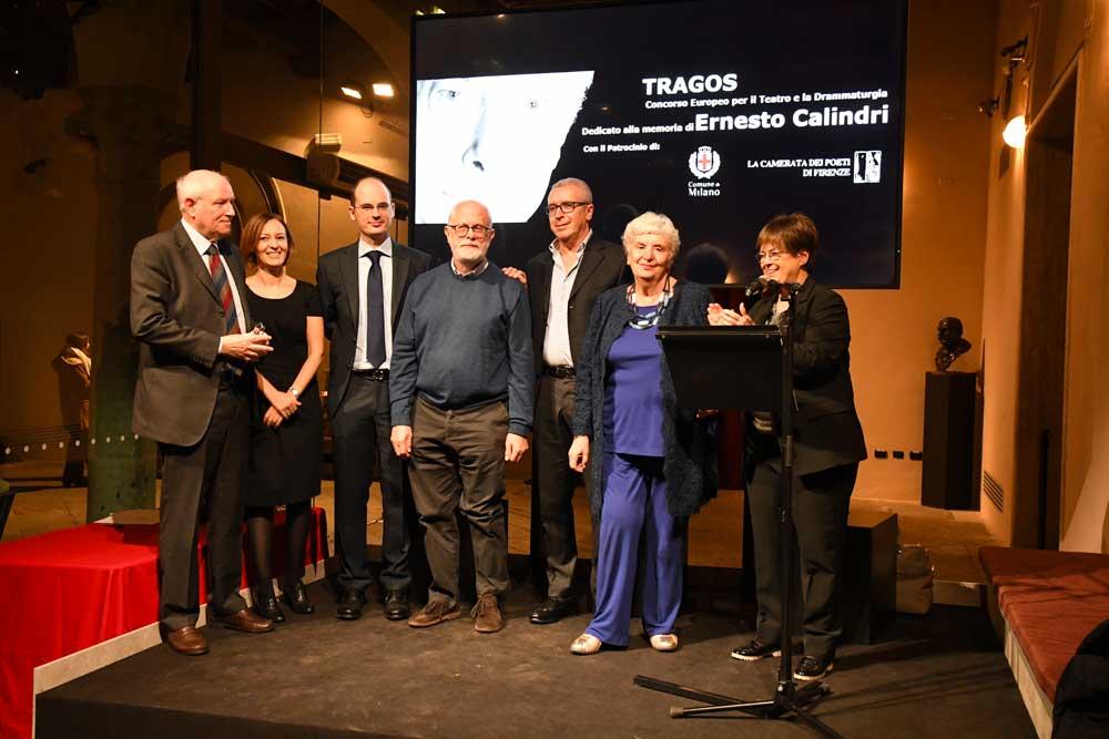 """Premiazione XV edizione del """"Concorso Europeo per il Teatro e la Drammaturgia Tragos"""